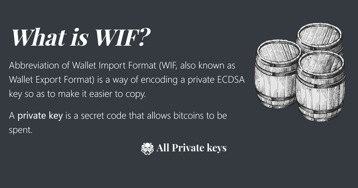 bitcoin wif